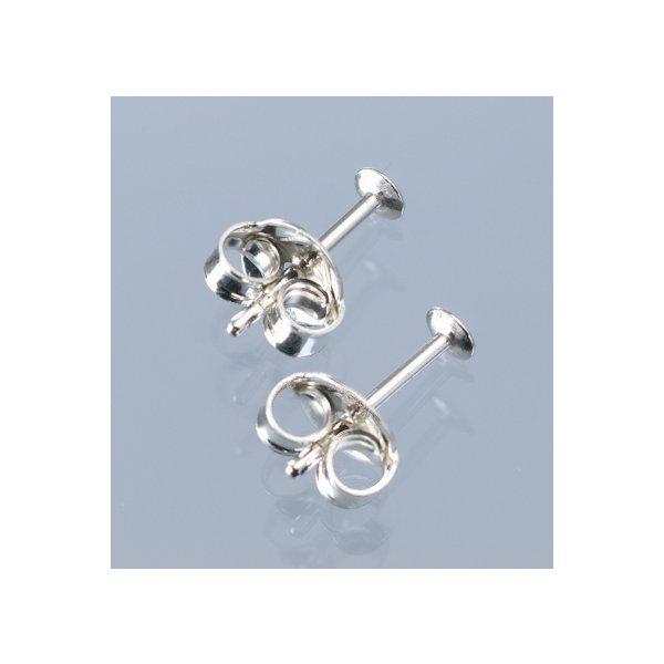 Ohrstecker 925 Silber 10 mm 2 Stück / 1 Paar