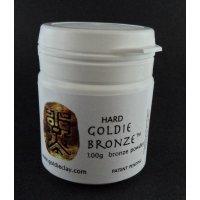 Hard-Bronzeclay Pulver von Goldie Clay, 100g