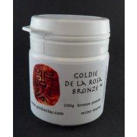 Bronzeclay Pulver De la Rosa von Goldie Clay, 100g
