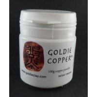 Kupferclay Pulver von Goldie Clay, 100g