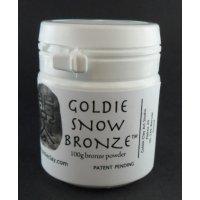 Bronzeclay Pulver Snow von Goldie Clay, 100g