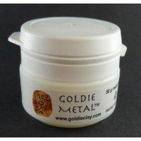Bronzeclay Pulver Snow von Goldie Clay, 50g