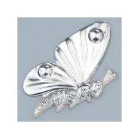 Schmuckteil Schmetterling 15 x 25 mm
