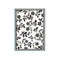 Texturmatte/Prägeschablone Gartenblumen 106 x 150 mm