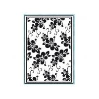 Texturmatte/Prägeschablone Blütenmuster 106 x...
