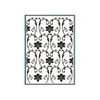 Texturmatte/Prägeschablone florales Muster 106 x 150 mm