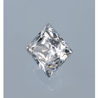 Synth. Edelstein quadrat, Weiß 5 x 5mm bis  850°C