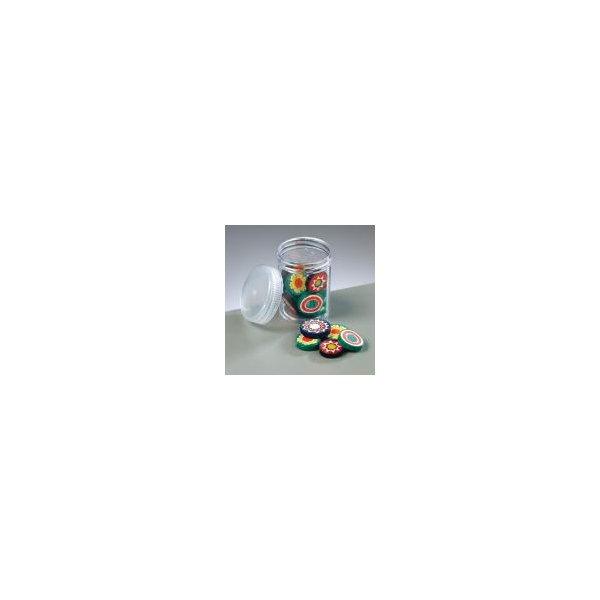 Millefiori Glasperlen 40g, bunt gemischt ø 15 - 20 mm
